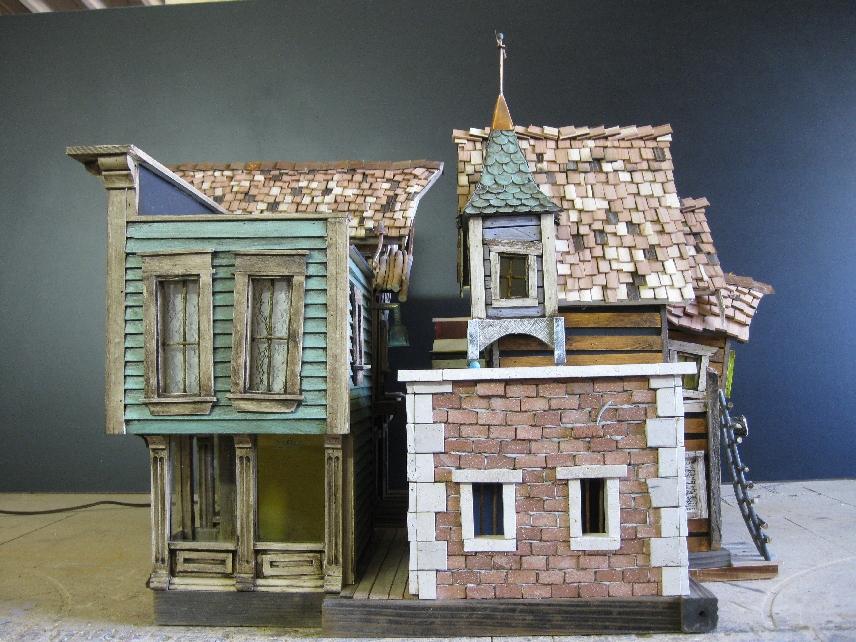 Theme Houses Crookedbirdhouse