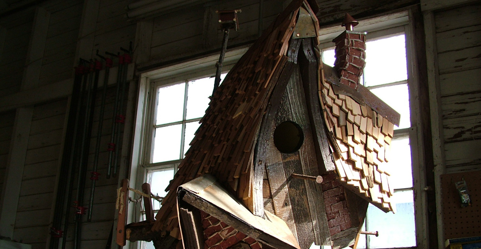Whimsical Crooked Birdhouses And Fairy Homes 303 717 7016