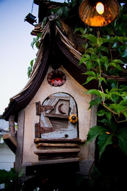 Whimsical Birdhouse Crookedbirdhouse Crookedbirdhouse